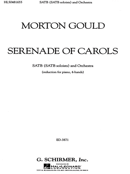 Serenade Of Carols