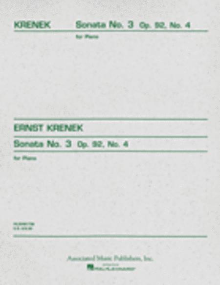 Sonata No. 3, Op. 92