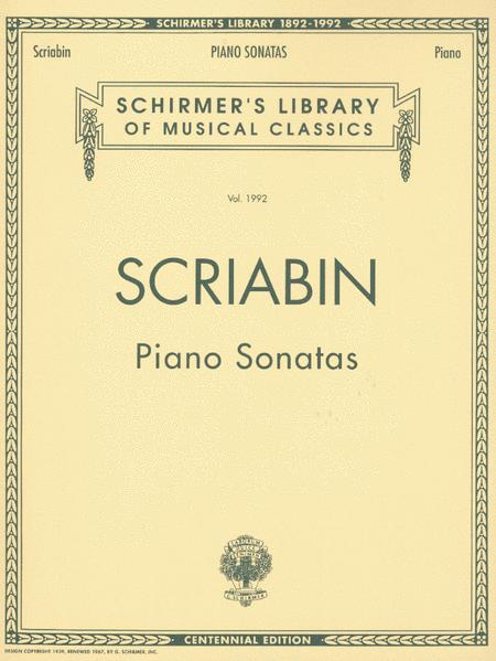 Piano Sonatas - Centennial Edition