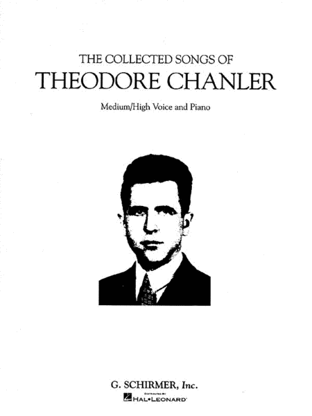 The Collected Songs of Theodore Chanler