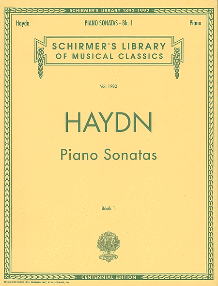 Piano Sonatas - Book 1