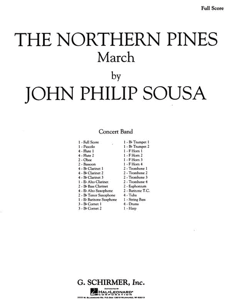 Northern Pines Score