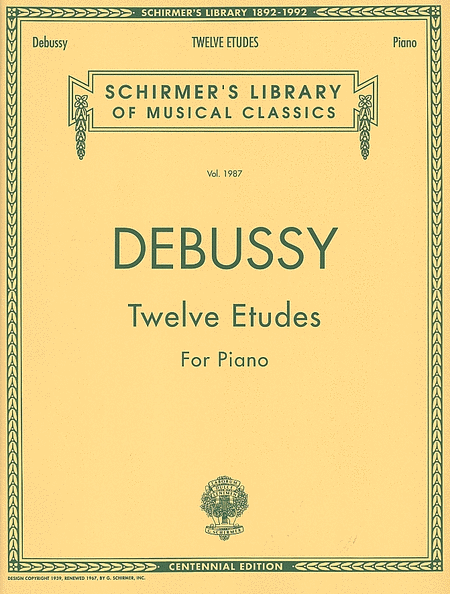 Twelve Etudes for Piano