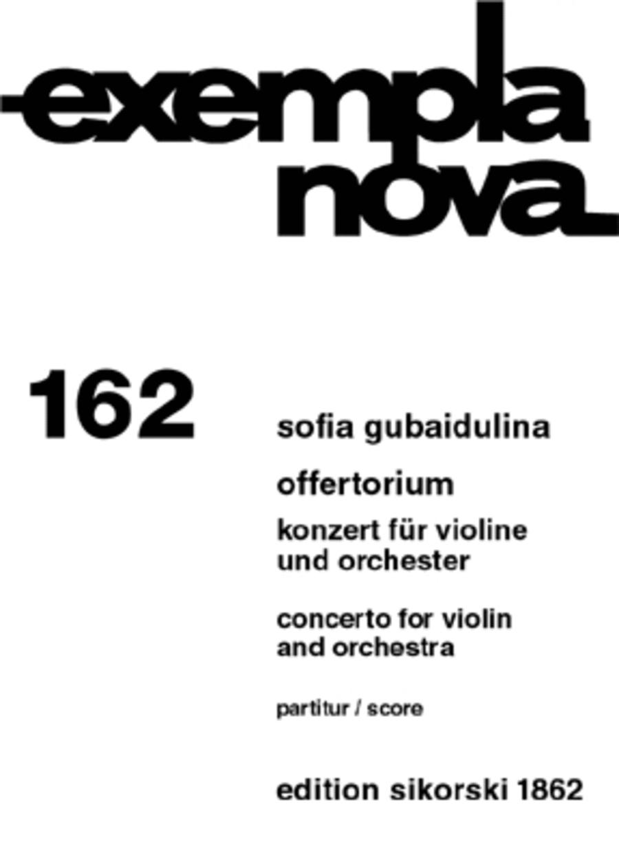 Offertorium/Concerto for Violin and Orchestra