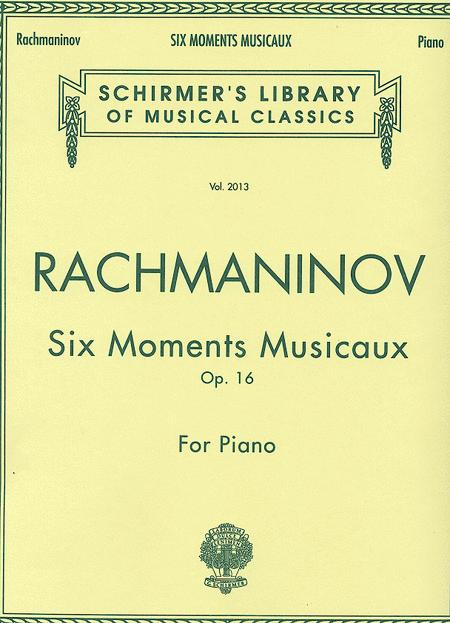Six Moments Musicaux