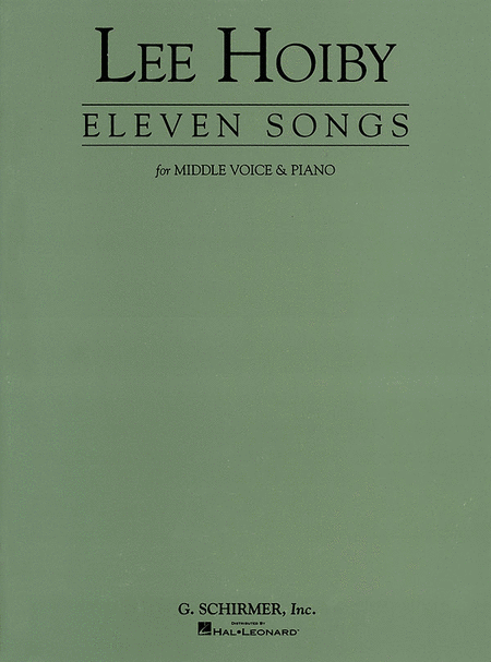 11 Songs for Middle Voice & Piano
