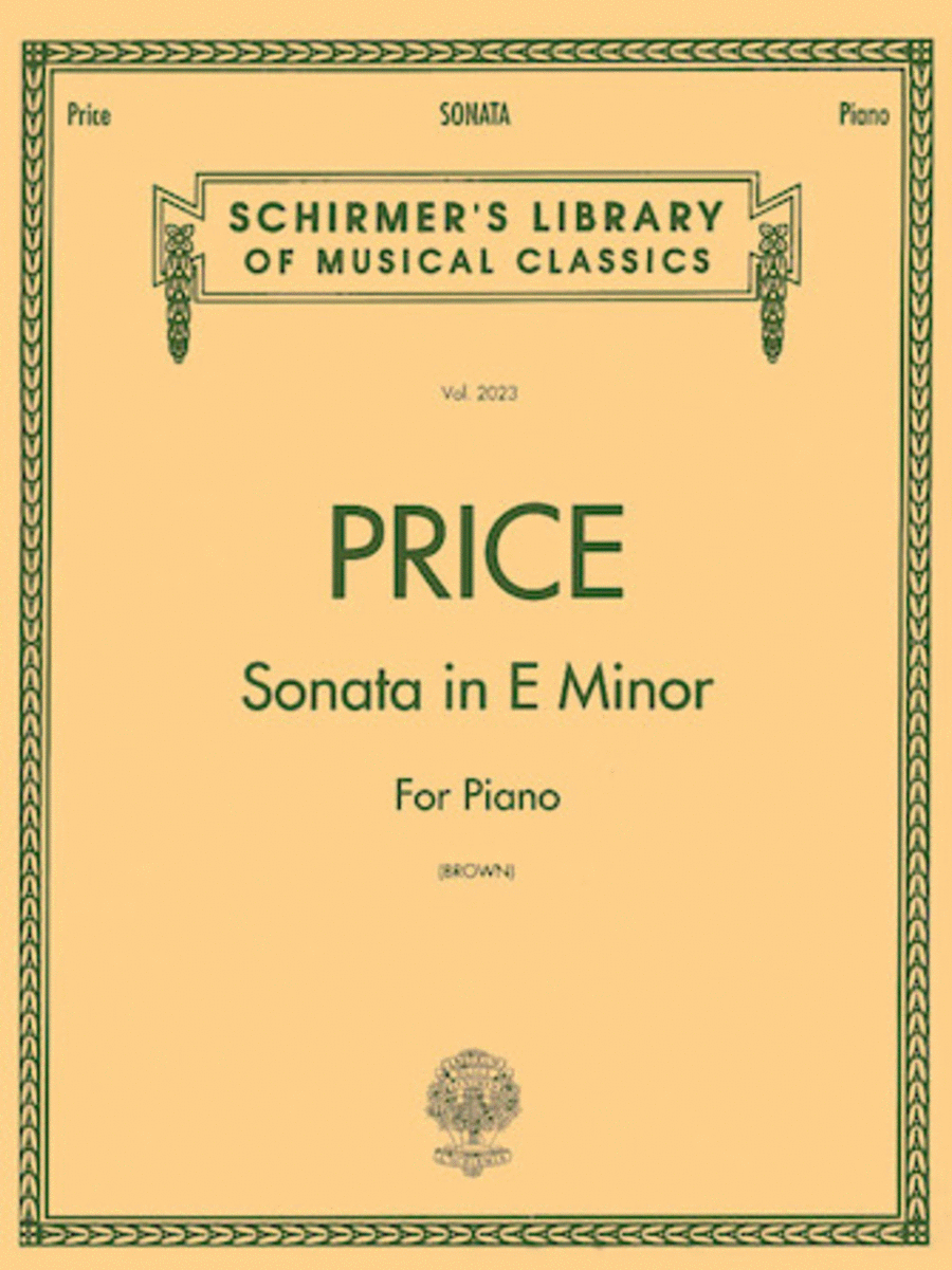 Sonata in E minor