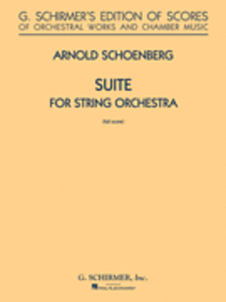 Suite in G for String Orchestra