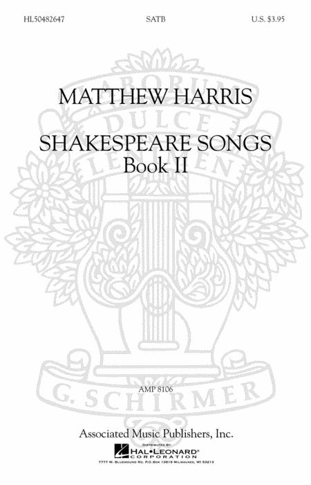Shakespeare Songs, Book II
