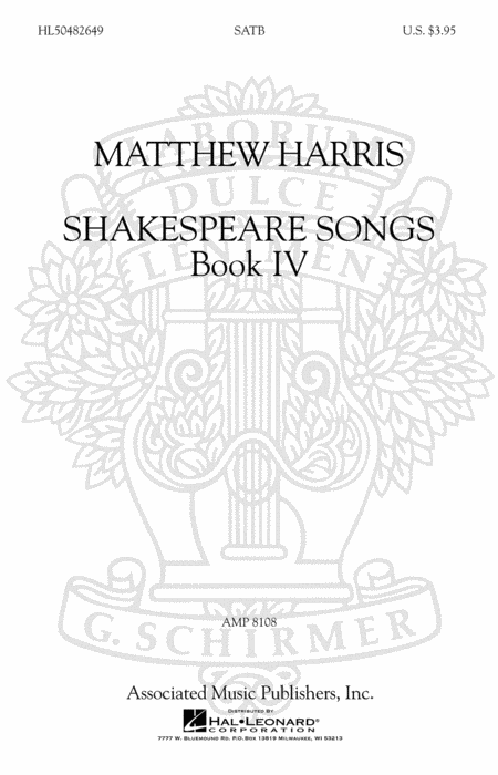 Shakespeare Songs, Book IV