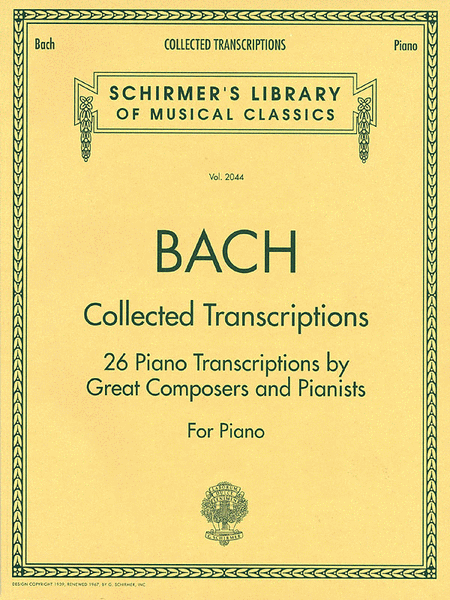 Collected Transcriptions