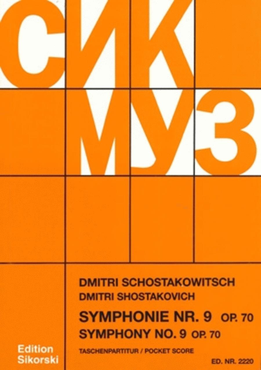 Symphony No. 9, Op. 70