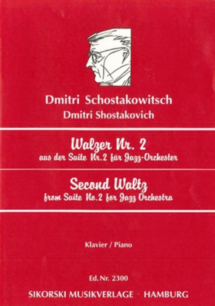 Walzer Nr. 2 aus der Wuite Nr. 3 fur Jazz-Orchester