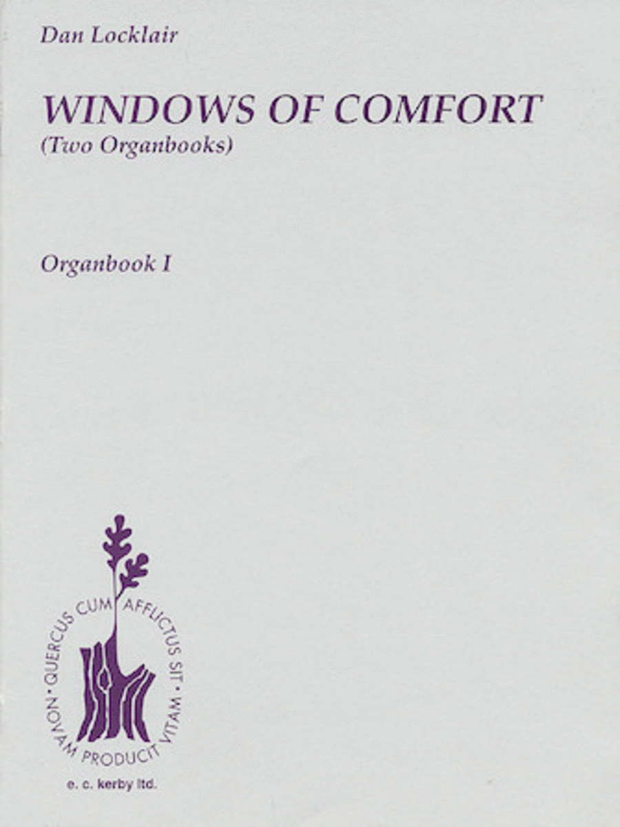 Windows Of Comfort (Two Organbooks)