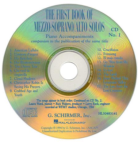 The First Book of Mezzo-Soprano/Alto Solos (Accompaniment CDs)