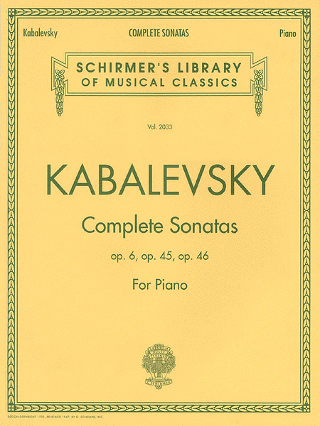 Complete Sonatas for Piano