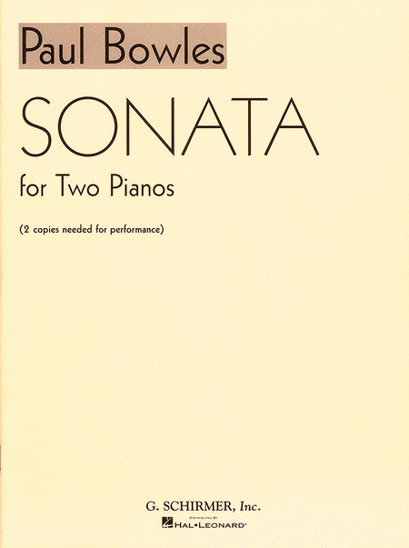 Sonata for 2 Pianos