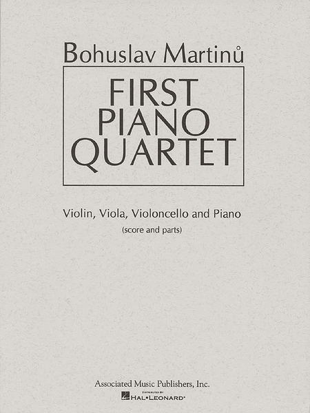 First Piano Quartet