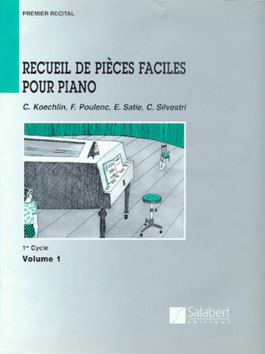 Recueil de Pieces Faciles Pour Piano - Level 1, Volume 1