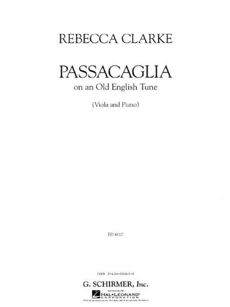 Passacaglia (Piano / Viola)