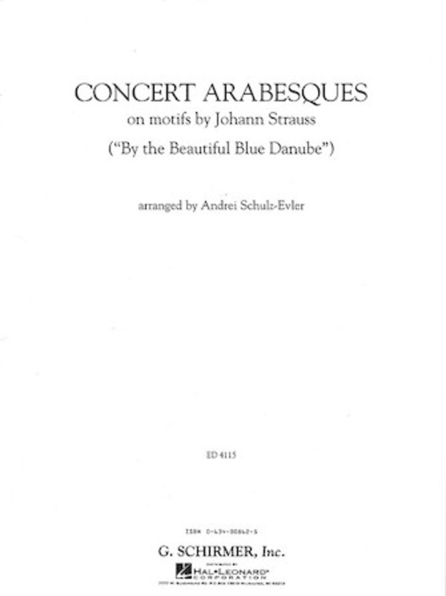 Concert Arabesques