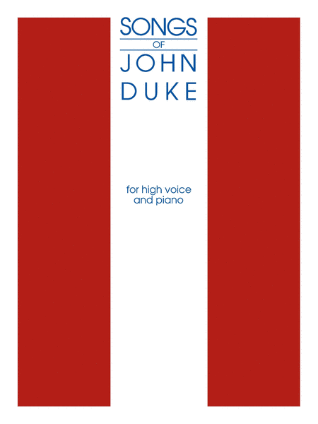 The Songs Of John Duke - High Voice