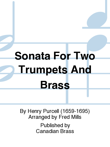 Sonata For Two Trumpets And Brass