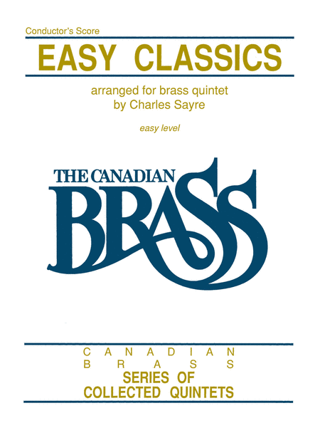 Easy Classics for Brass Quintet