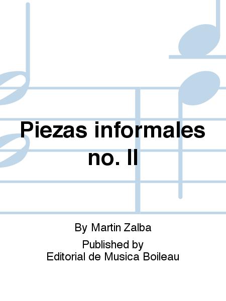 Piezas informales no. II