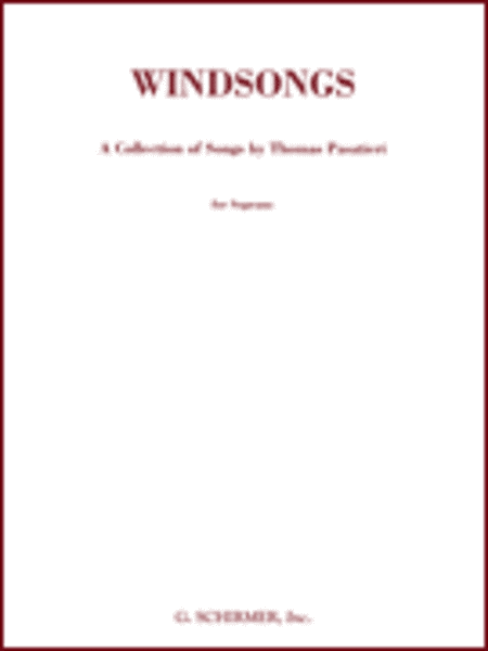 Windsongs: A Collection of Songs for Soprano
