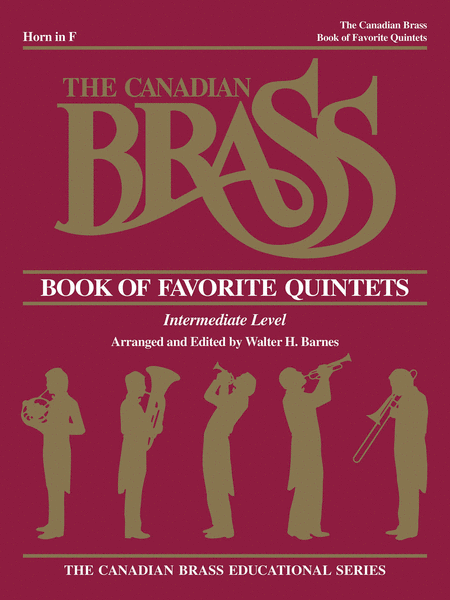 Canadian Brass Book Of Favorite Quintets - Horn