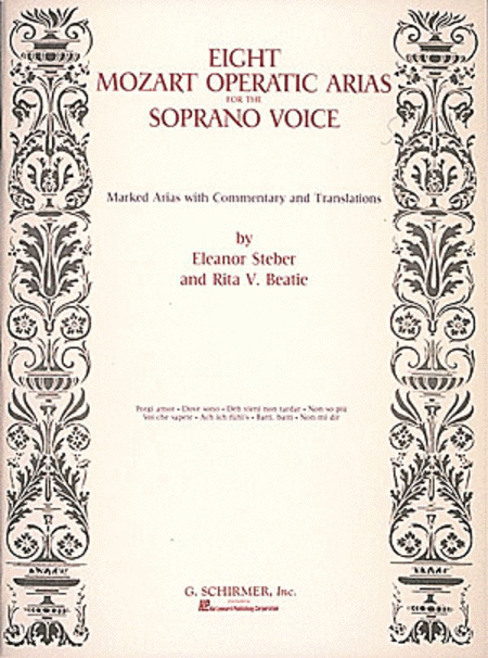 Eight Operatic Arias For The Soprano Voice