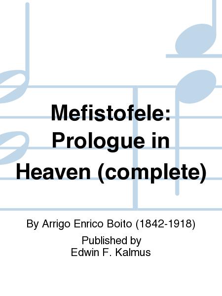 Mefistofele: Prologue in Heaven (complete)