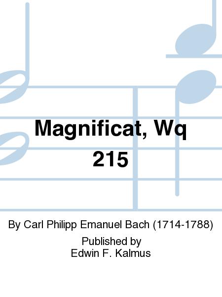 Magnificat, Wq 215
