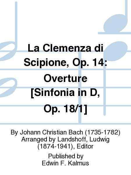La Clemenza di Scipione, Op. 14: Overture [Sinfonia in D, Op. 18/1]
