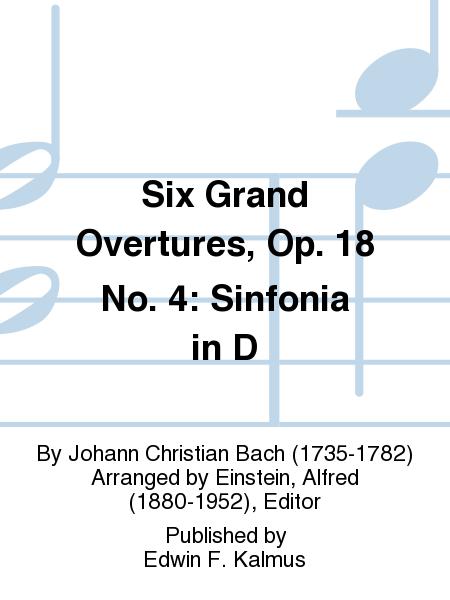 Six Grand Overtures, Op. 18 No. 4: Sinfonia in D