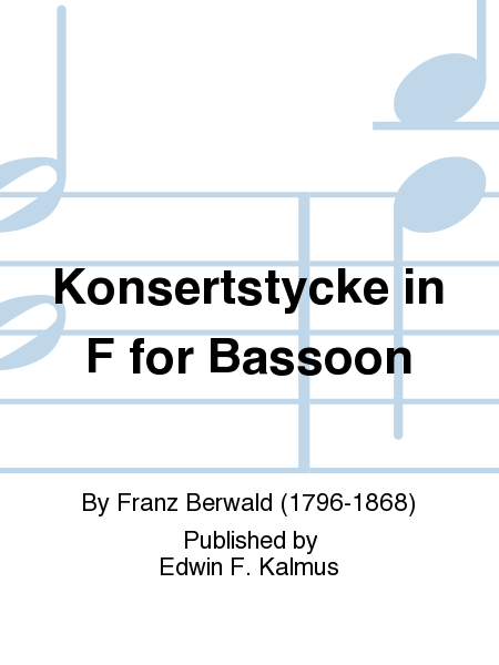 Konsertstycke in F for Bassoon