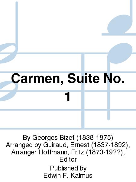 Carmen, Suite No. 1