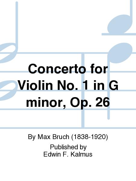 Concerto for Violin No. 1 in G minor, Op. 26