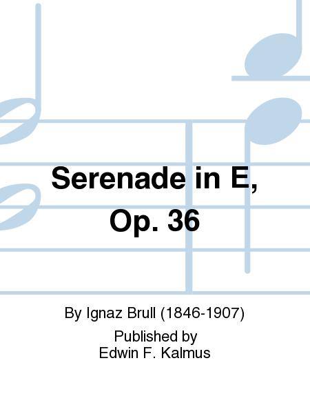 Serenade in E, Op. 36