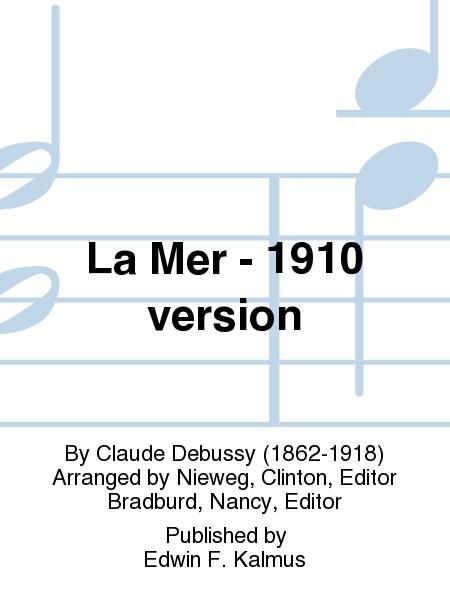 La Mer - 1910 version