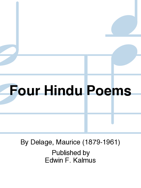 Four Hindu Poems