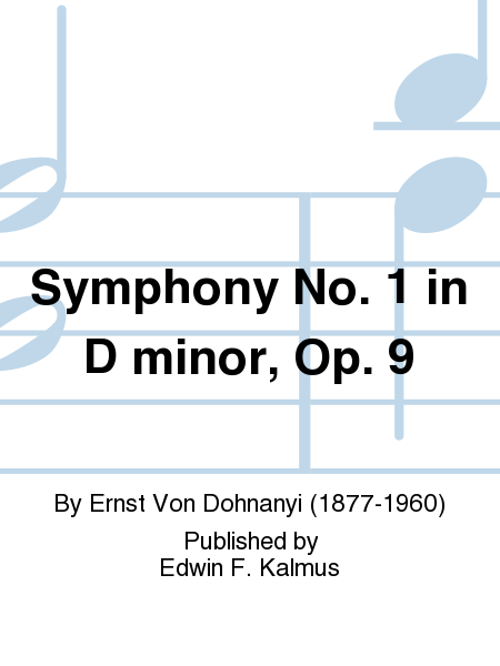 Symphony No. 1 in D minor, Op. 9