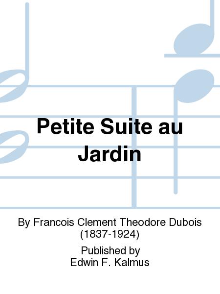 Petite suite au jardin sheet music by francois clement for Au petit jardin proven