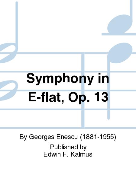 Symphony in E-flat, Op. 13