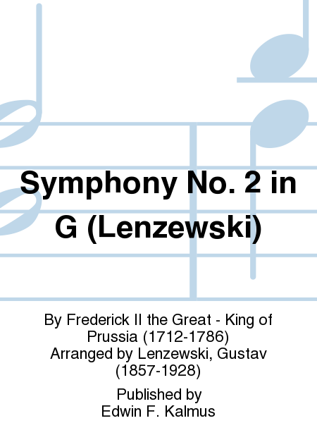 Symphony No. 2 in G (Lenzewski)