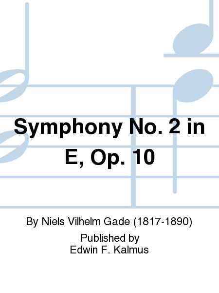 Symphony No. 2 in E, Op. 10