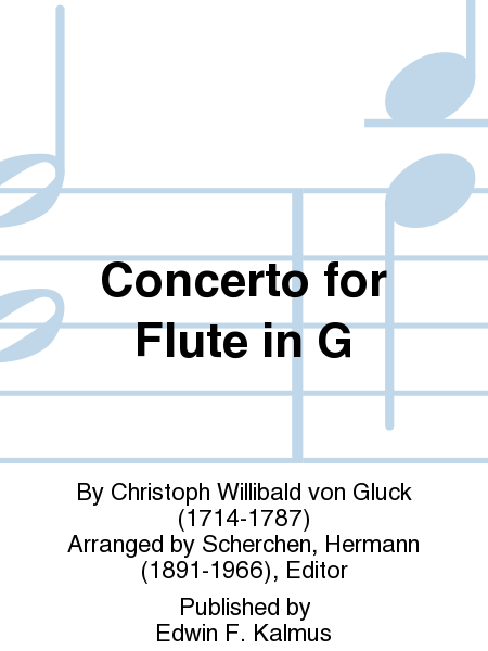 Concerto for Flute in G