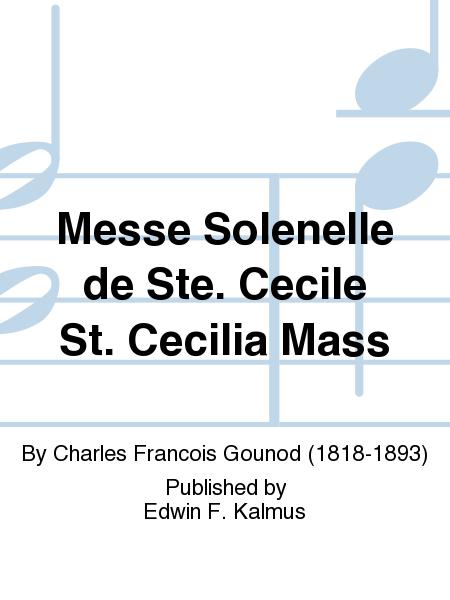 Messe Solenelle de Ste. Cecile St. Cecilia Mass