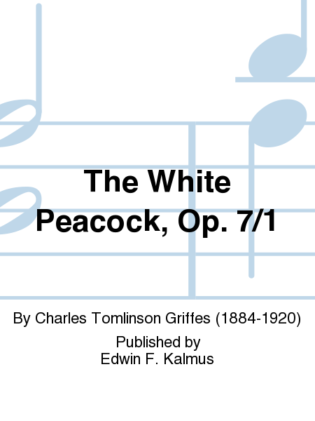 The White Peacock, Op. 7/1